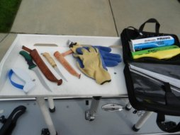 How to clean a fish fillet board for Fish cleaning tools