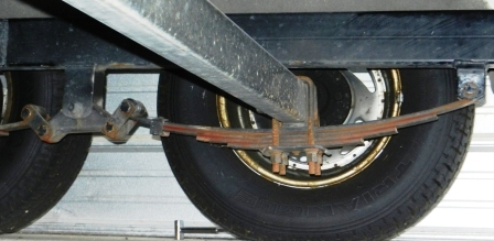 Boat Trailer Springs