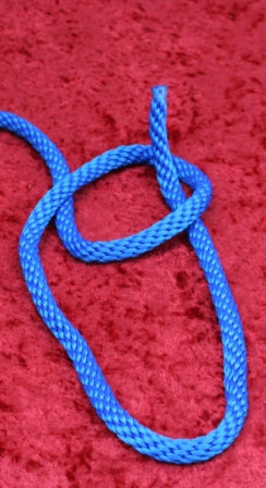 Bowline Knot Step Two