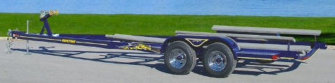 Freshwater Fishing Boat Trailer