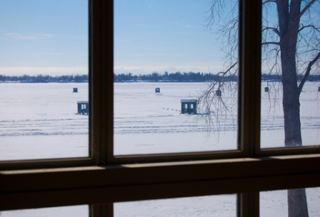 Ice Fishing From Your Family Room