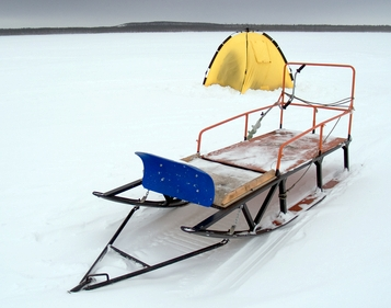 ice fishing equipment, ice fishing tip ups, ice fishing flashers, Reel Combo