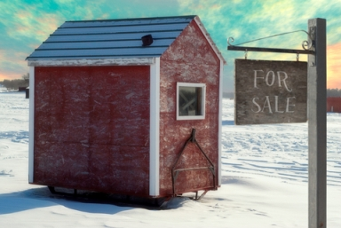 Ice Fishing Hut for Sale