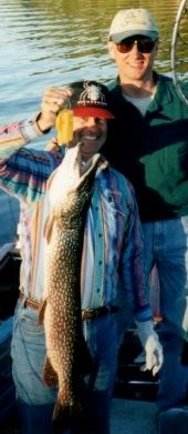 Rainy Lake Pike