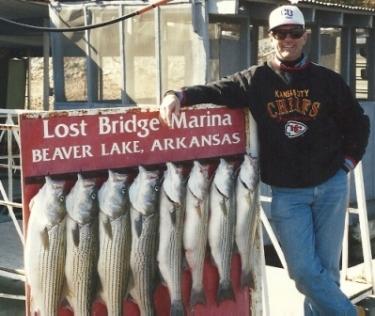 Beaver Lake Stripers