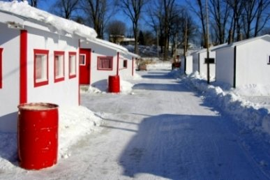 Ice fishing shelters ice fishing house for Ice fishing huts for sale