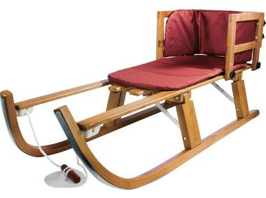 Lucky Bums Heirloom Collection Wooden Sled