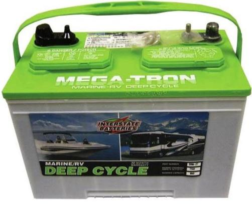 Boat battery 24 volt battery for Marine trolling motor batteries