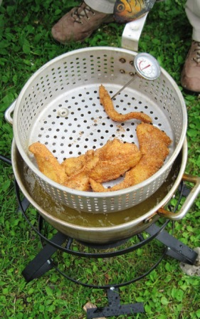 Deep Frying Fish Deep Fried Fish